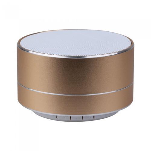 V-TAC -  Bluetooth Колона Метална + TF Слот 400mah Златно SKU: 7714 VT-6133