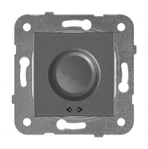 PANASONIC - Димер RL 6-100W за LED крушки Panasonic Kare тъмносив WKTT0520-2DG