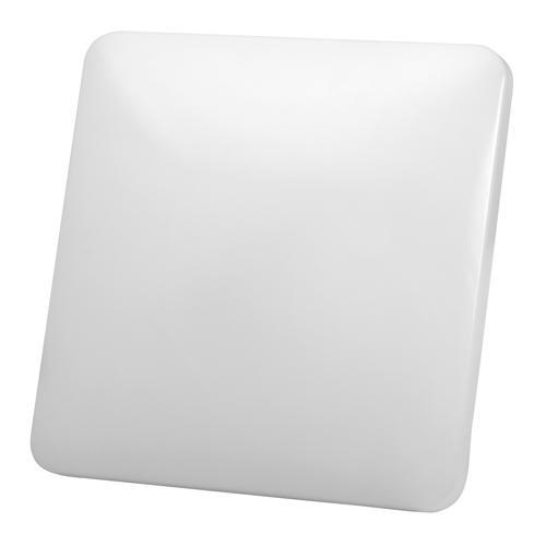 ULTRALUX - SPL1242S LED слим плафониера квадрат 12W, 4200K, IP20