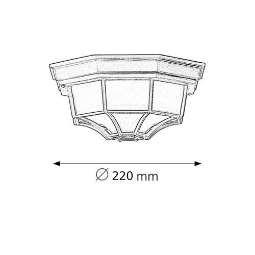 TNL - Градински Плафон Spider IP54 SMALL