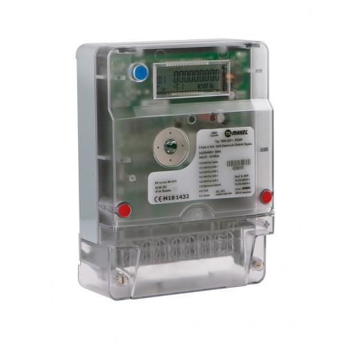 MAKEL - Електромер TS510.2251 трифазен, 3х230/400VAC, 5(100)A
