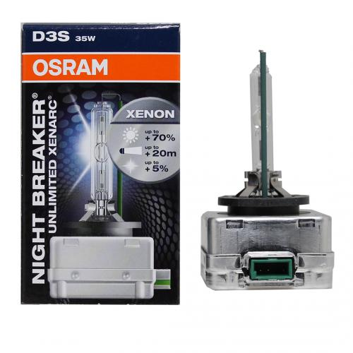 OSRAM - NIGHT BREAKER Unlimited 66340XNB D3S