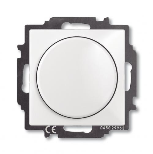 ABB - Димер 60-400W ABB Basic55 Бяло 6515-0-0842