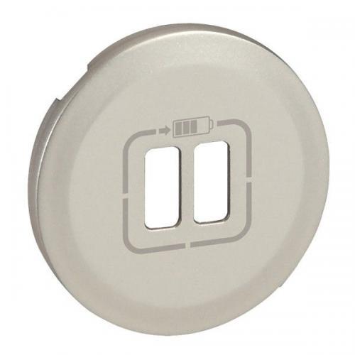 LEGRAND - Лицев панел за USB контакт Celiane 68256 бял