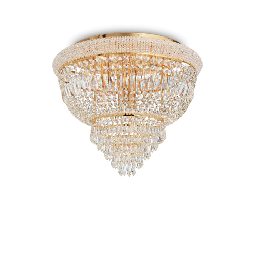 IDEAL LUX - Плафон DUBAI  PL6  OTTONE 201016