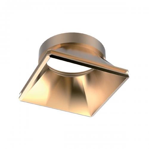 IDEAL LUX - Симетричен рефлектор за модулна луна DYNAMIC REFLECTOR SQUARE FIXED GOLD 211831