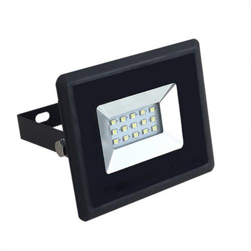 V-TAC - 10W LED Прожектор E-Series Черно Тяло Син IP65 SKU: 5990 VT-4011