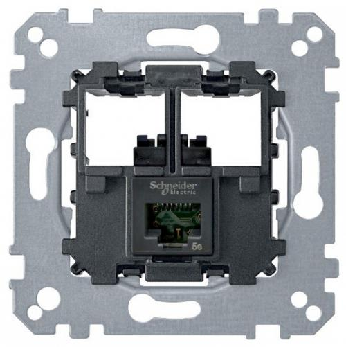 SCHNEIDER ELECTRIC - MTN4575-0001 Комп.розетка RJ45 кат.5е UTP механизъм