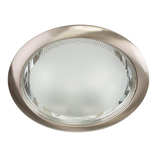 ULTRALUX - LVS2E27230SN  CEILING DOWNLIGHT, FIXED, SATIN NICKEL, E27