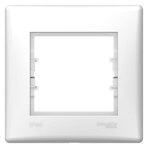 SCHNEIDER ELECTRIC - SDN5810521 влагозащитена рамка Sedna единична бял IP 44