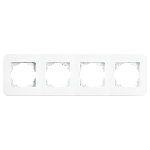 VIKO - 4 Gang Frame Horizontal white Rollina 90480054