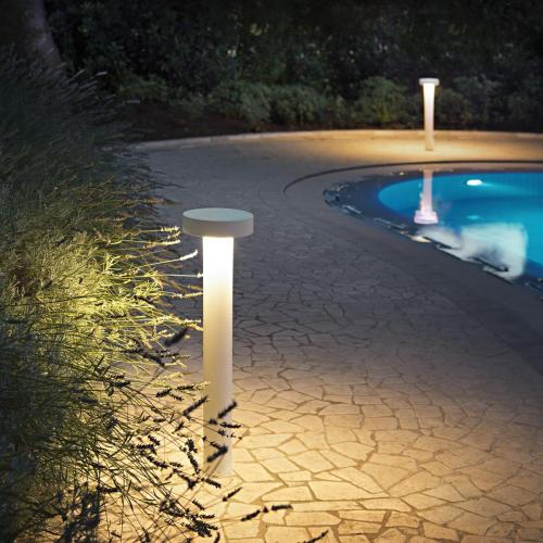 IDEAL LUX - Градински стълб  TESLA PT4  BIG Bianco 153179