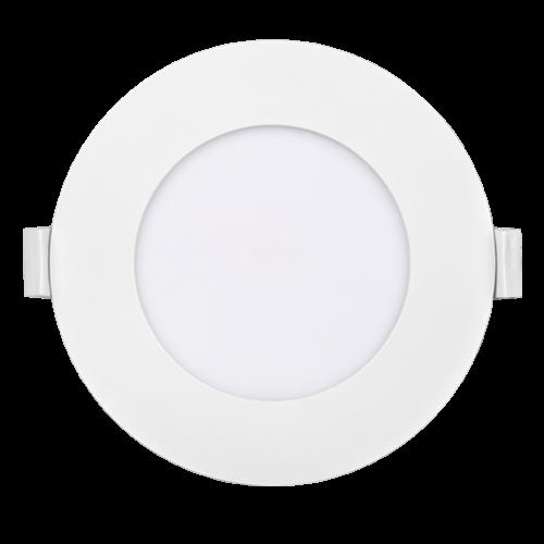 PANASONIC - 6W LED панел за вграждане, кръг, 6500K ∅120 LPLA11W066