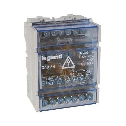 LEGRAND - Разпределителен клемен блок 100А 4P 4 модула 4884