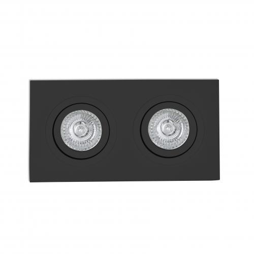FARO - RADÓN-R Black recessed orientable lamp Ref.43407