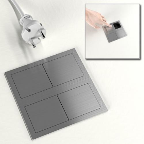 ASA - Модул VersaHit Dual 2 контакта тип шуко с детска защита