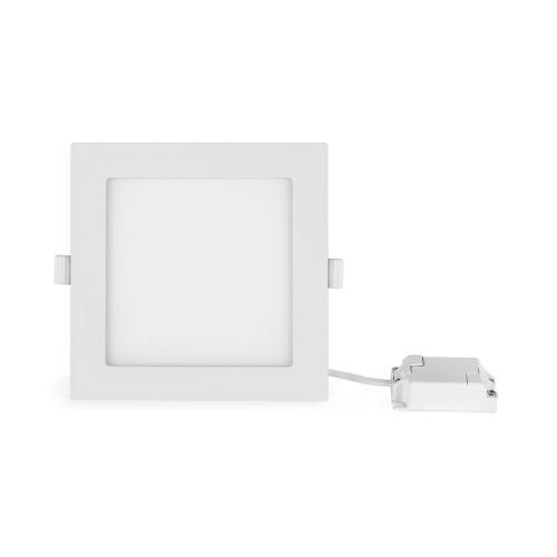 ULTRALUX - LPSB1242 LED панел за вграждане, квадрат 12W, 4200K, 220-240V AC, SMD2835