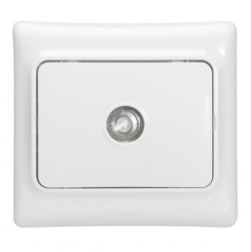 LEGRAND - 782115 TV розетка индивидуална бял
