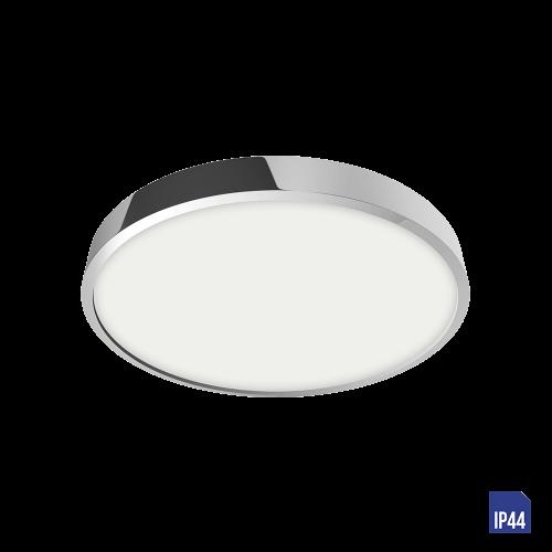 LUXERA - LED панел 12W влагозащитен IP44 външен монтаж LENYS 49025 хром