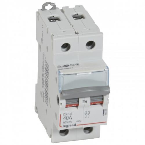 LEGRAND - Товаров прекъсвач /шалтер/ DX3-IS 40А 2P 406440