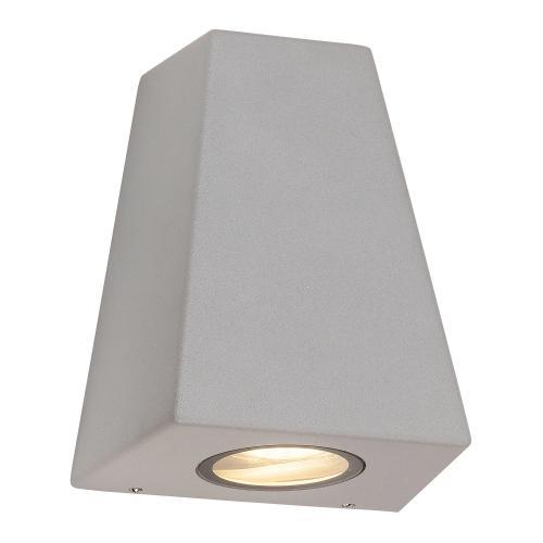 RABALUX - 8534 Idaho IP44, outdoor wall lamp, GU10 2xMAX10W IP44 grey