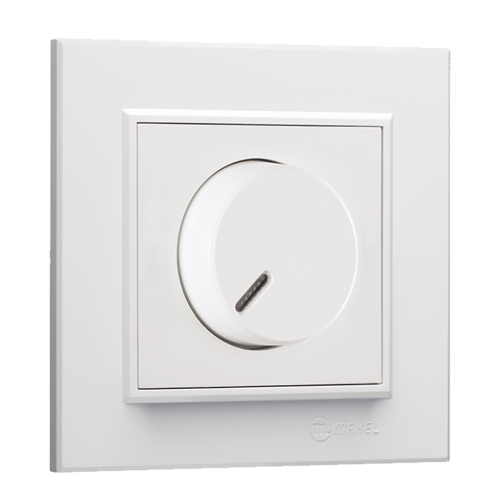 MAKEL - Ключ регулатор (димер) 600W Karea 56001011