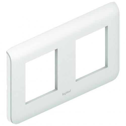 LEGRAND - 78804 Четиримодулна рамка 2х2 Mosaic бяло