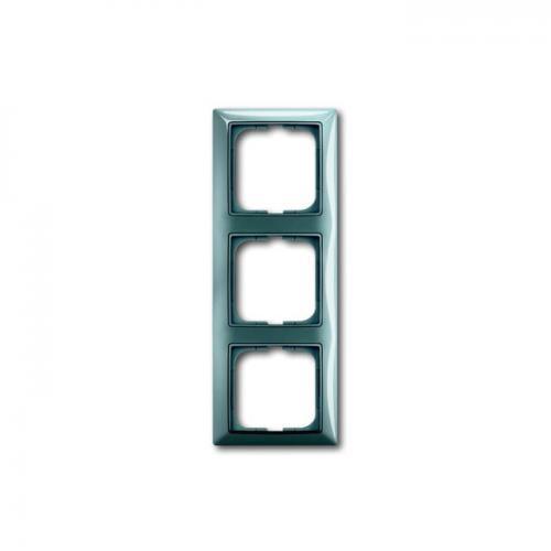 ABB - 2CKA001725A1523 Рамка тройнаABB Basic55 Синя