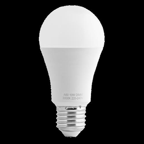 ULTRALUX -  LB102742D LED лампа крушка димираща, 10W, E27, 4200K, 220-240V AC, неутрална светлина