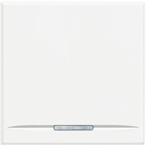 BTICINO - HD4051M2 Ключ обикновен 2 модул бяло