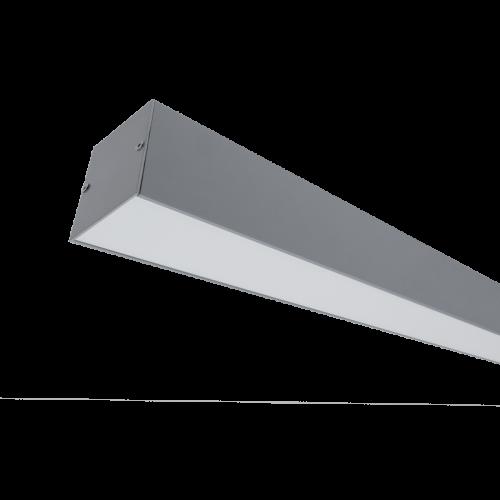 ELMARK - LED ПРОФИЛ ЗА ОТКРИТ МОНТАЖ S48 40W 4000K СИВ 99SM1204040/GR