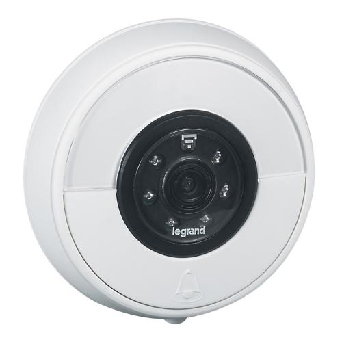 LEGRAND - 0 942 30 Connected push-button for door bell - without chime receiver - white
