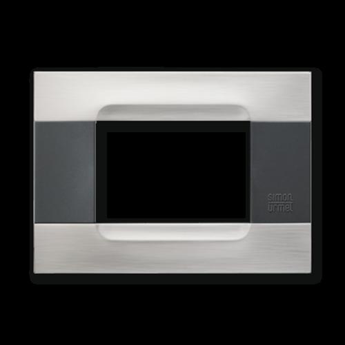 SIMON URMET - 10803.91 Nickel Steel Polychrome Gloss Metal Kadra