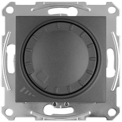 SCHNEIDER ELECTRIC - SDN2201270 Sedna universal rotary dimmer for LED lamps 400 W, graphite