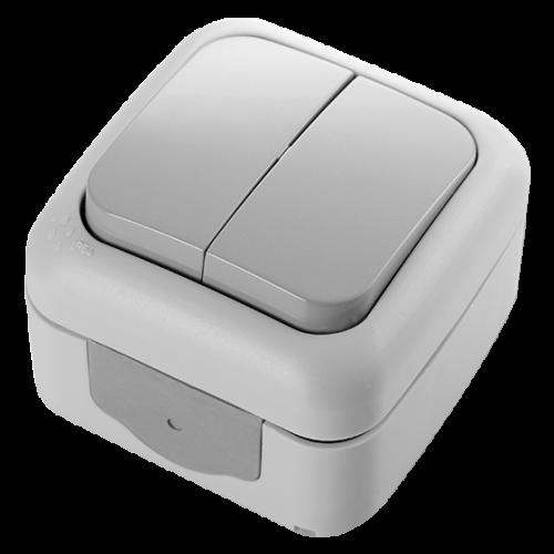 VIKO - двоен ключ Palmiye IP54 влагозащитен