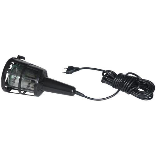 COmmel - Подвижна лампа с PVC решетка E27 60W с кабел H05RN-F 2x0,75мм2 5 метра 0885