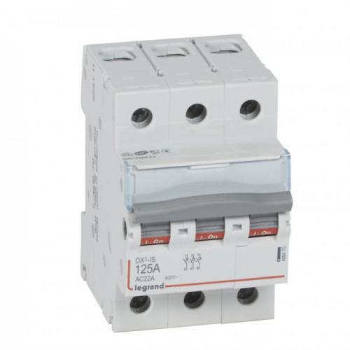LEGRAND - Товаров прекъсвач /шалтер/ DX3-IS 125А 3P 406470