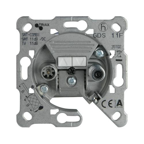 PANASONIC - TV-SAT Socket, Terminated, Mechanism WBTM0460-5NC