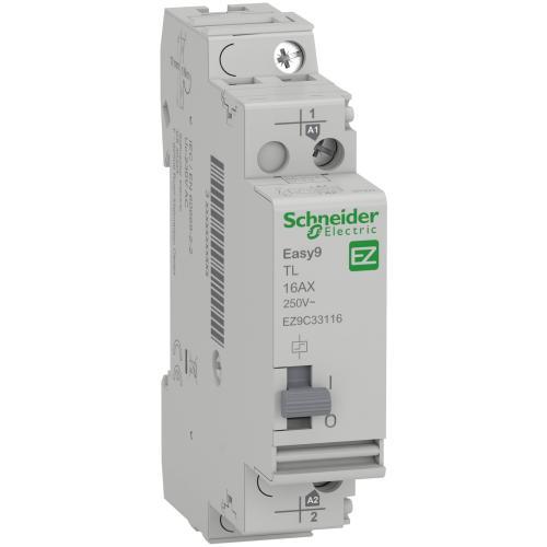 SCHNEIDER ELECTRIC - Импулсно реле Easy9 TL 1P 16 A 1 NO 230V 50Hz EZ9C33116