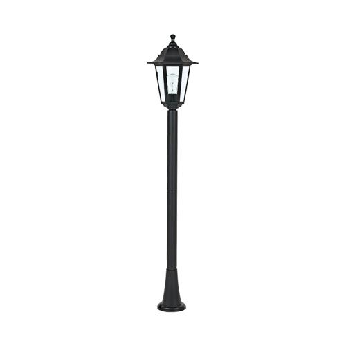 ACA LIGHTING - Градински фенер стоящ черен 100см влагозащитен IP44 PLGQ5B