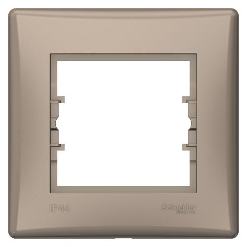 SCHNEIDER ELECTRIC - SDN5810568 влагозащитена рамка Sedna единична титаний IP44
