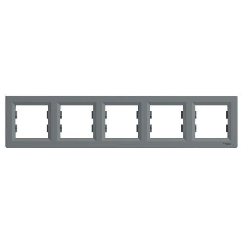 SCHNEIDER ELECTRIC - EPH5800562 Декоративна Рамка Петорна Asfora Стомана