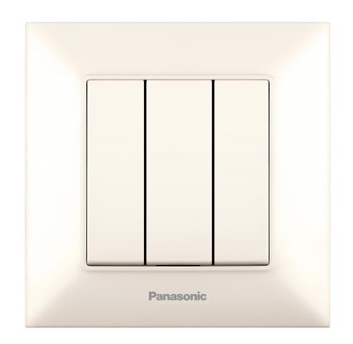 PANASONIC - Троен ключ Panasonic Arkedia Slim крем WNTC0015-2BG