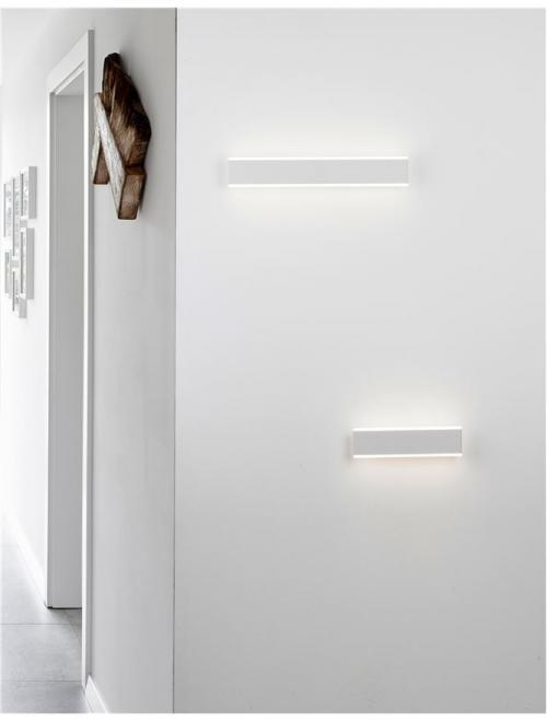 NOVA LUCE - LED линейно тяло  LINE 9115908 LED 2x8 W, 1056Lm 3000K IP20 L: 30.4 W: 11.8 H: 11.8 cm