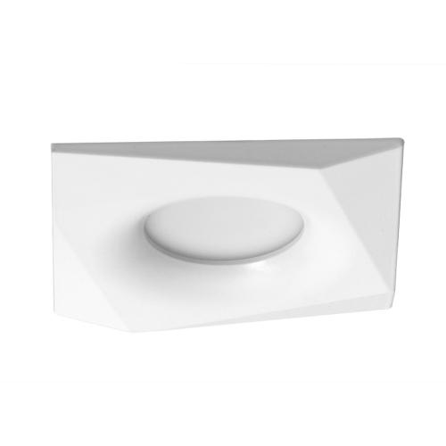 ULTRALUX - LVSSMR16WH Ceiling downlight, square, fixed, white, non-waterproof IP20