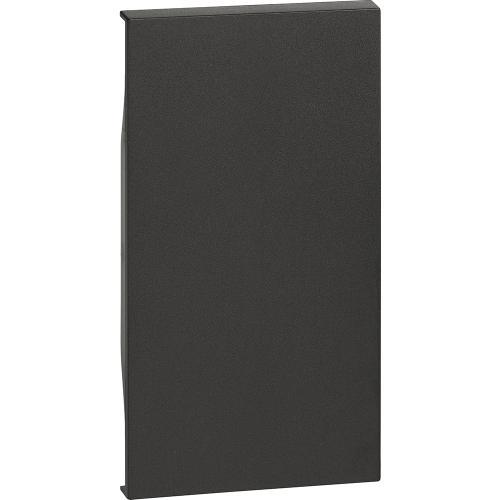 BTICINO - Лицев панел за празен модул 2 мод. цвят черен Living Now Bticino KG00M2