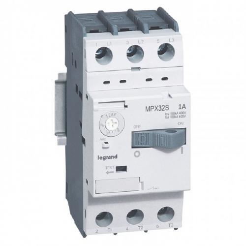 LEGRAND - Моторна защита 3P 0.63-1.0A тип MPX3 32S 417304