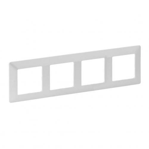 LEGRAND - Четворна рамка Valena Life 754144  перла