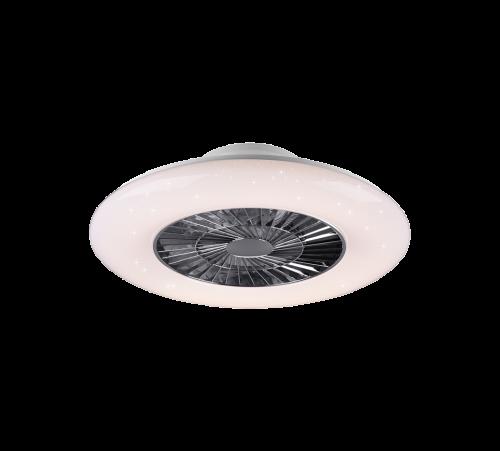 TRIO - Таванен вентилатор със осветление VISBY – R62402106