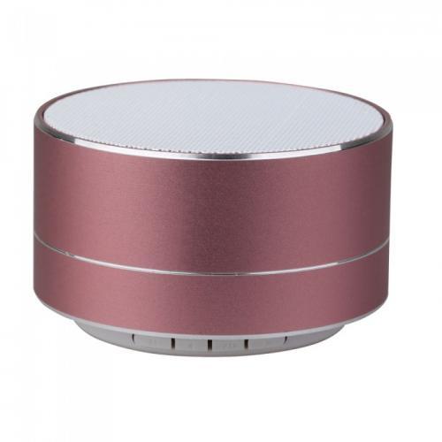 V-TAC -  Bluetooth Колона Метална + TF Слот 400mah Розова SKU: 7715 VT-6133